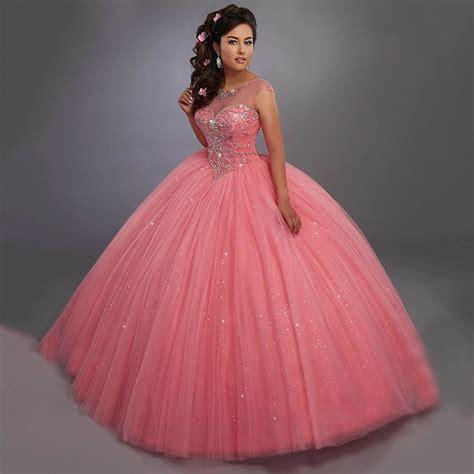 Resultado de imagen para vestidos de 15 años 2017 rosa ...