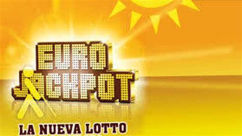 Resultado Eurojackpot: La combinación ganadora del sorteo ...