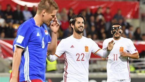 Resultado Liechtenstein   España hoy | Partido España para ...