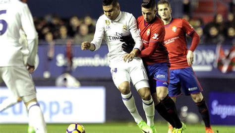 Resultado Osasuna   Real Madrid hoy | Liga Santander