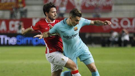 Resultado Real Murcia - Barcelona de Copa del Rey