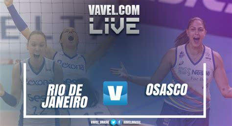 Resultado Rio de Janeiro 3x2 Osasco na final Superliga ...