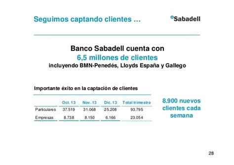Resultados banco sabadell 2013