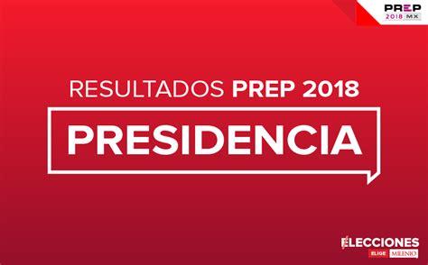Resultados de las elecciones presidenciales 2018 en México