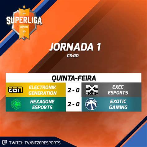 Resultados SuperLiga de CS:GO   Jornada 1   RTP Arena