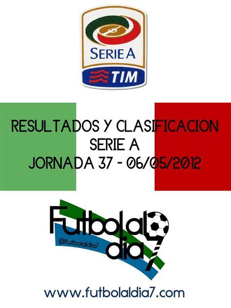 Resultados y Clasificacion Serie A Jornada 37 by sofia ...