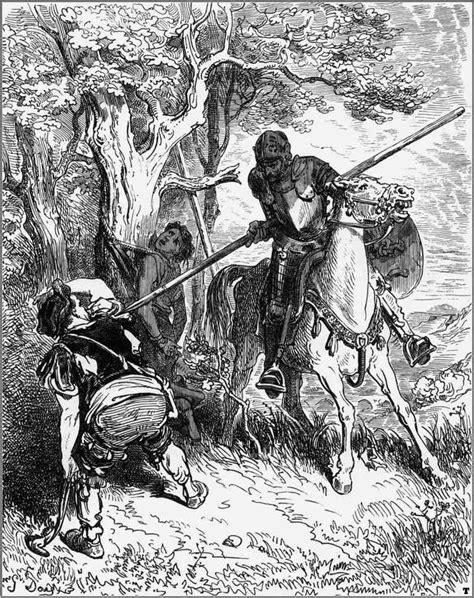 Resumen de Don Quijote: primera parte, capítulo 4