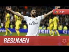 Resumen de Real Madrid (3-0) Villarreal CF - YouTube