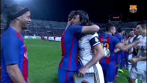 Resumen del CLASICO LEYENDAS BARCELONA VS REAL MADRID (3-2 ...