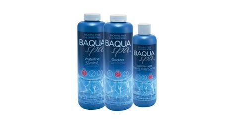 Retail Store Chemicals   BAQUA Spa Care System