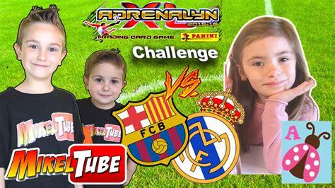 Reto Adrenalyn XL Los Juguetes de Arantxa VS. MikelTube ...