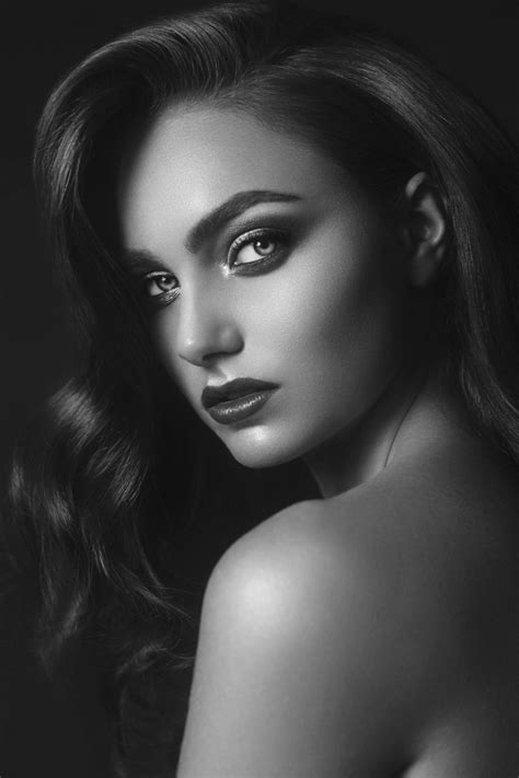 Retrato blanco y negro | Retratos | Pinterest | Retrato ...