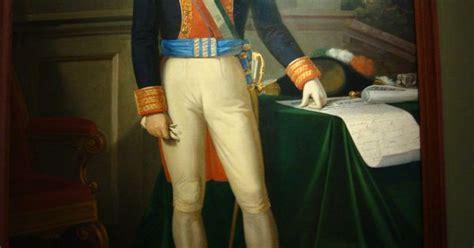 Retrato de Agustin de Iturbide  primer Imperio Mexicano ...