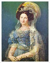 Retrato de María Cristina