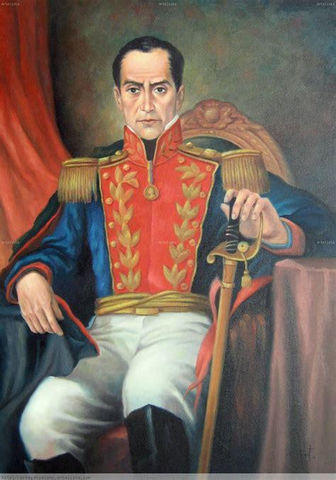 Retrato de Simón Bolívar. NELSON ORTEGA TOSCANO ...