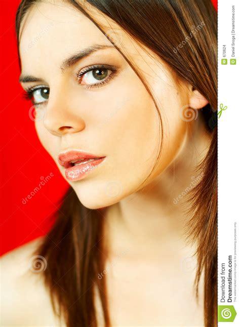 Retrato Modelo Trigueno Imagenes de archivo   Imagen: 670624