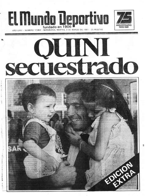 Retro davidesports – El secuestro de Quini | davidesports
