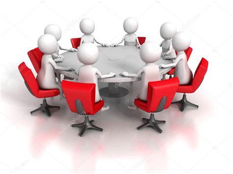 Reunión de trabajo del equipo de grupo de personas 3d ...