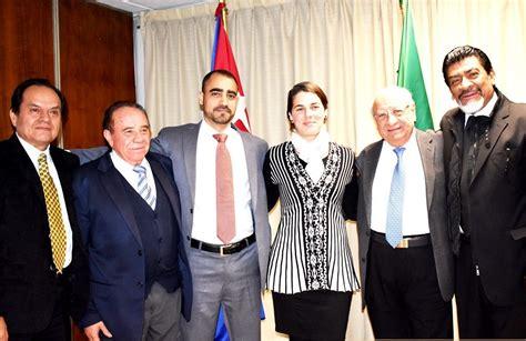 Reunión en la Embajada de Cuba   Miguel Hidalgo Ciudad de ...