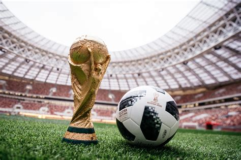 Revealed: The Fifa 2018 World Cup official match football ...
