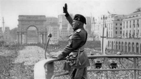 Revelan el mensaje que Mussolini dejó para las ...