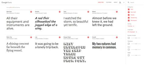 Review: Is the New and Improved Google Fonts Better ...