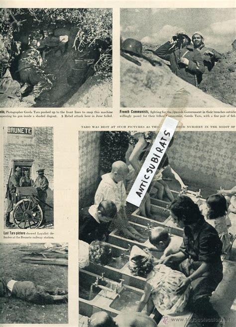 revista año 1937 guerra civil robert capa gerda - Comprar ...