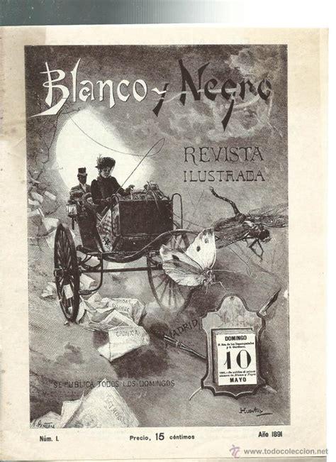 revista blanco y negro nº 1 de 1891   Comprar Revista ...