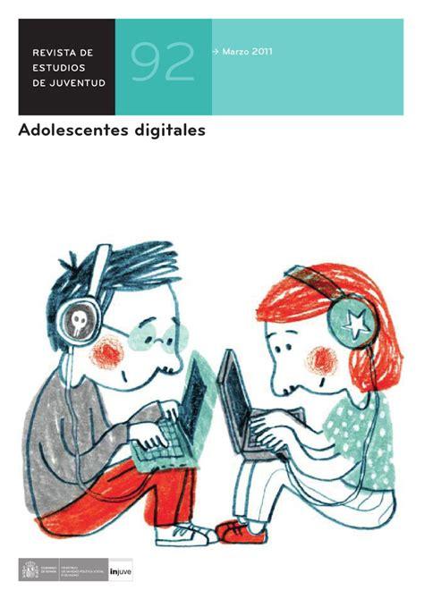 Revista de Estudios de Juventud Nº 92. Adolescentes ...