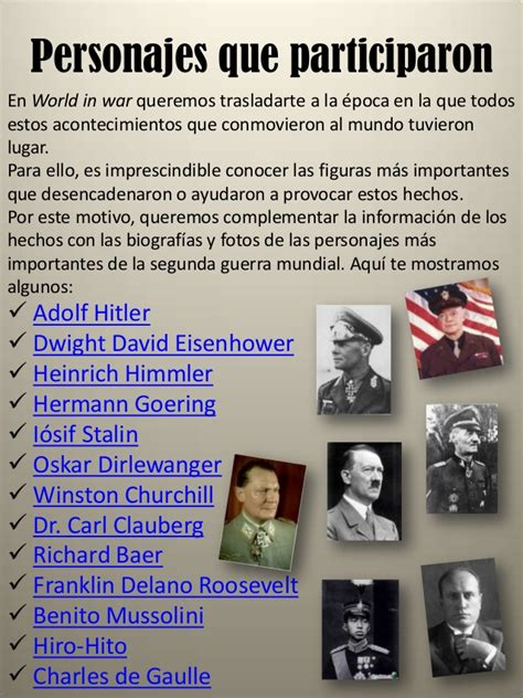 Revista de la segunda guerra mundial