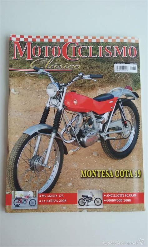 revista/motociclismo clasico nº72/montesa cota - Comprar ...