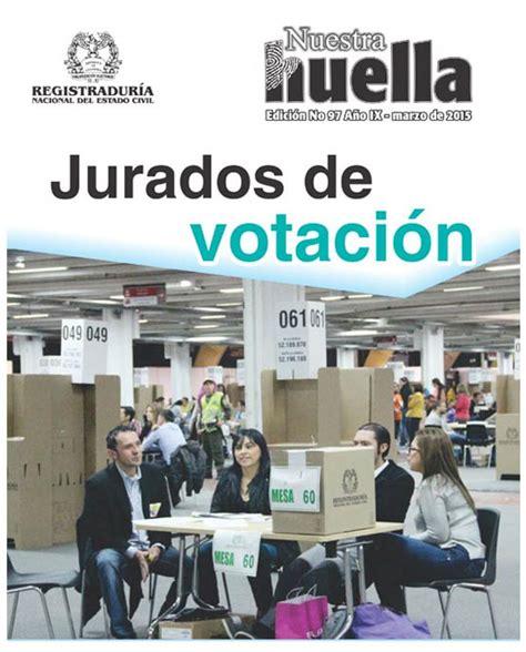 Revista Nuestra Huella   Registraduría Nacional del Estado ...