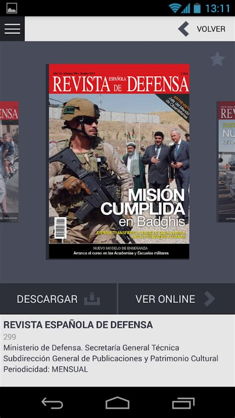 Revistas de Defensa - Android Apps on Google Play