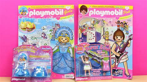 Revistas para niños de Playmobil en español   Unboxing ...