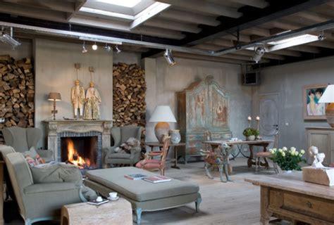rh interiorismo: Un Loft romántico en Bélgica.
