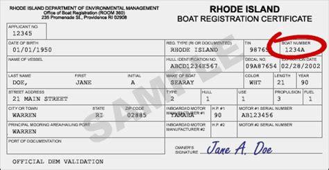 RI.gov: DEM Boat Address Change