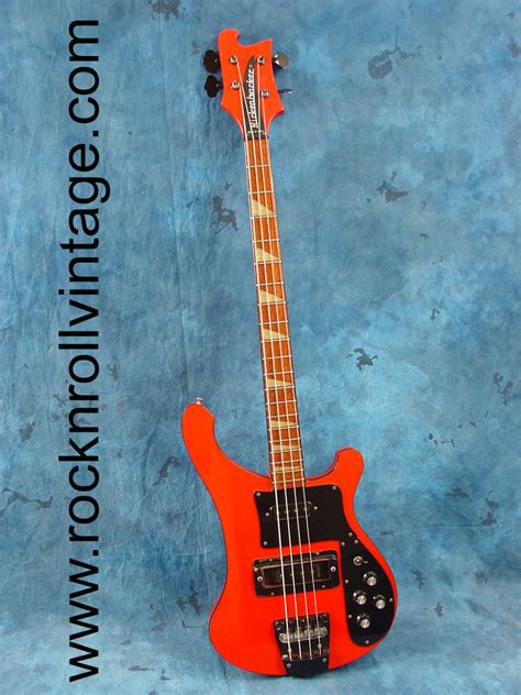 Rickenbacker Bass Photos and Guitar information