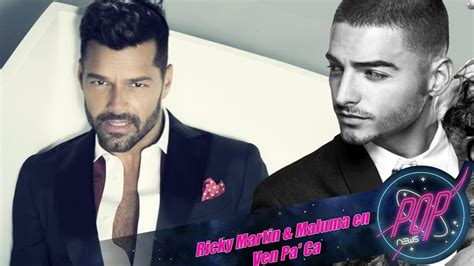 Ricky Martin anuncia Vente Pa  Ca Ft. Maluma + Nuevo disco ...