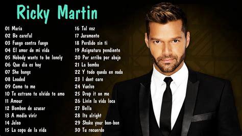 Ricky Martin Sus Mejores Exitos 2017 Ricky Martin Mix ...