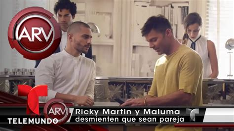Ricky Martin y Maluma desmienten que sean pareja | Al Rojo ...
