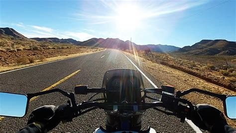 Riding motorcycle rural road Footage | Stock Clips