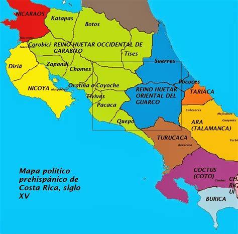 Rincones de Costa Rica: Organización Política de los ...