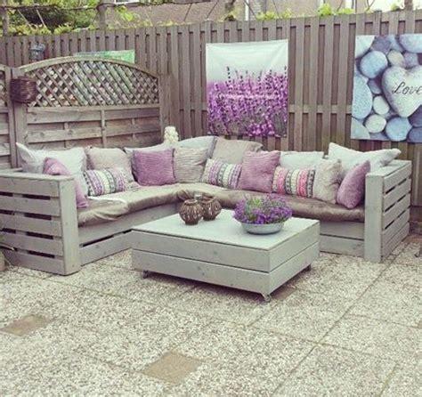 Rincones de palets para la terraza con mucho estilo – I ...