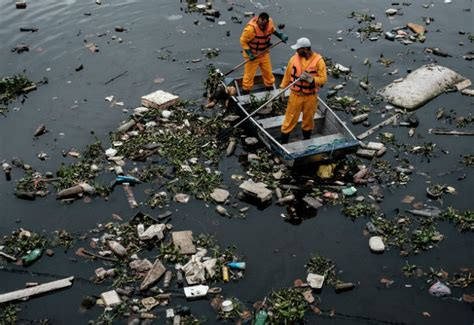 Río: alarma por la contaminación del agua   442