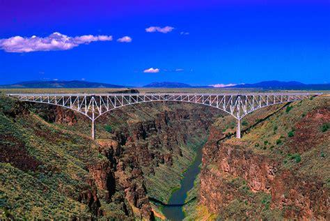 Rio Grande Gorge Bridge Taos County Nm Photograph by Troy ...