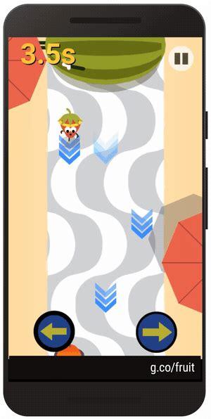 Rio Olympics 2016 Google Game   Fruit doodles