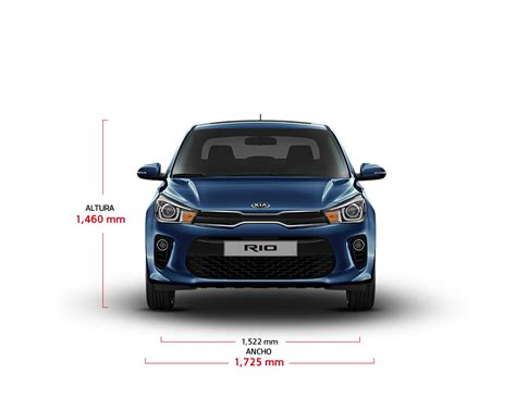 Rio Sedan Especificaciones | Autos | Kia Motors Ecuador