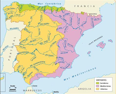 Rios De España Mapa Juegos