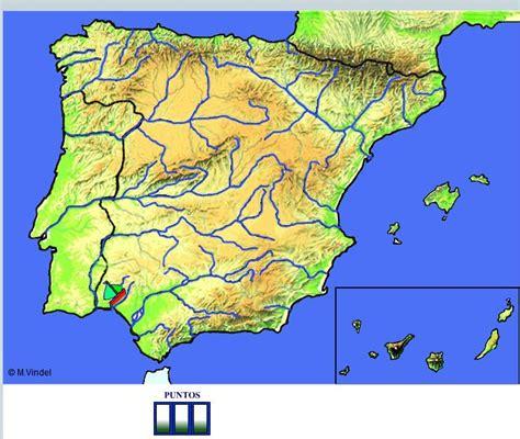 Rios Mapa Fisico De España