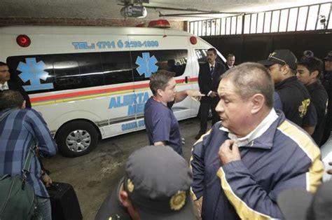 Ríos Montt ingresado en el hospital privado Los Pinos